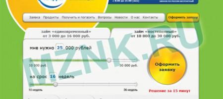 Миг кредит - микрофинансовая организация